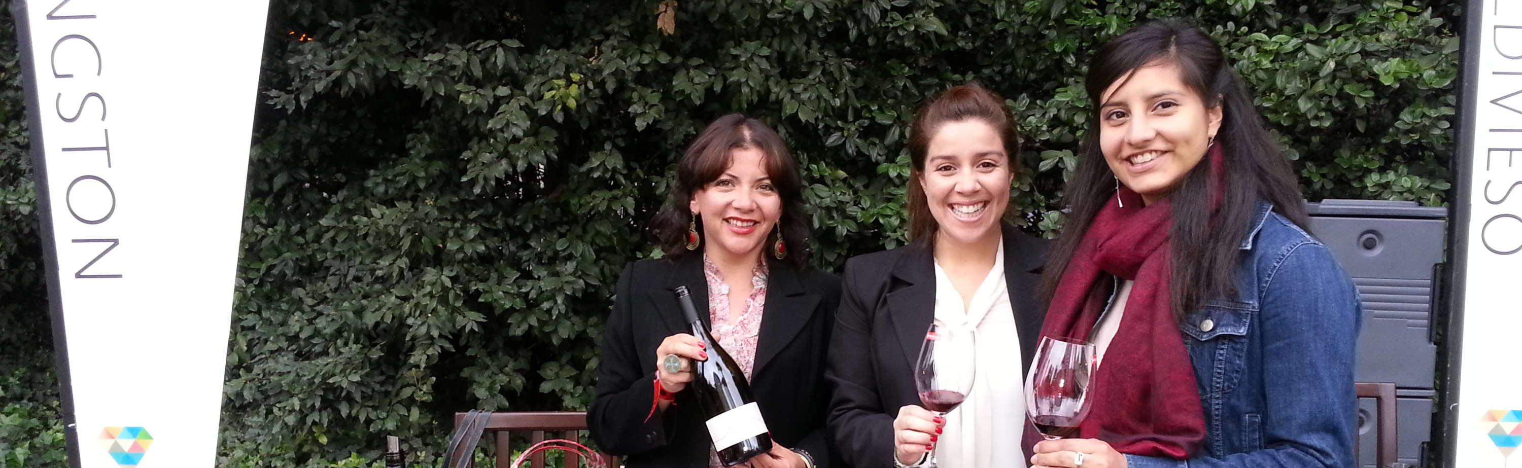 Kingston Family Vineyards team at Descorchados Feria de Vinos de Lujo 2012