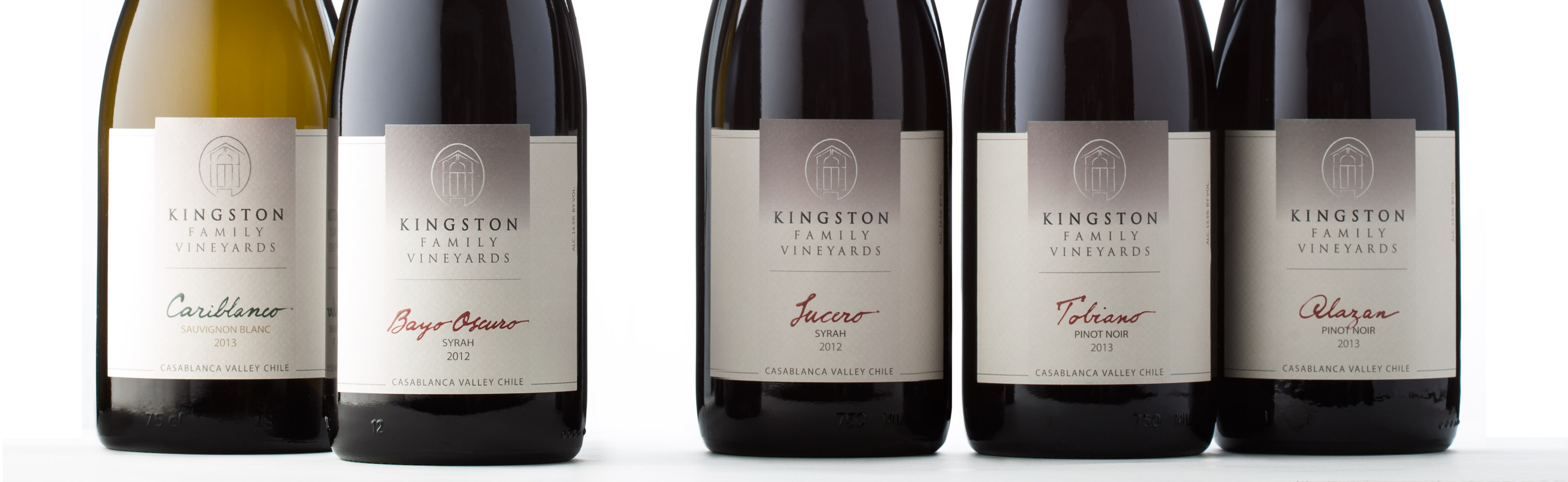 New Kingston Wine Labels