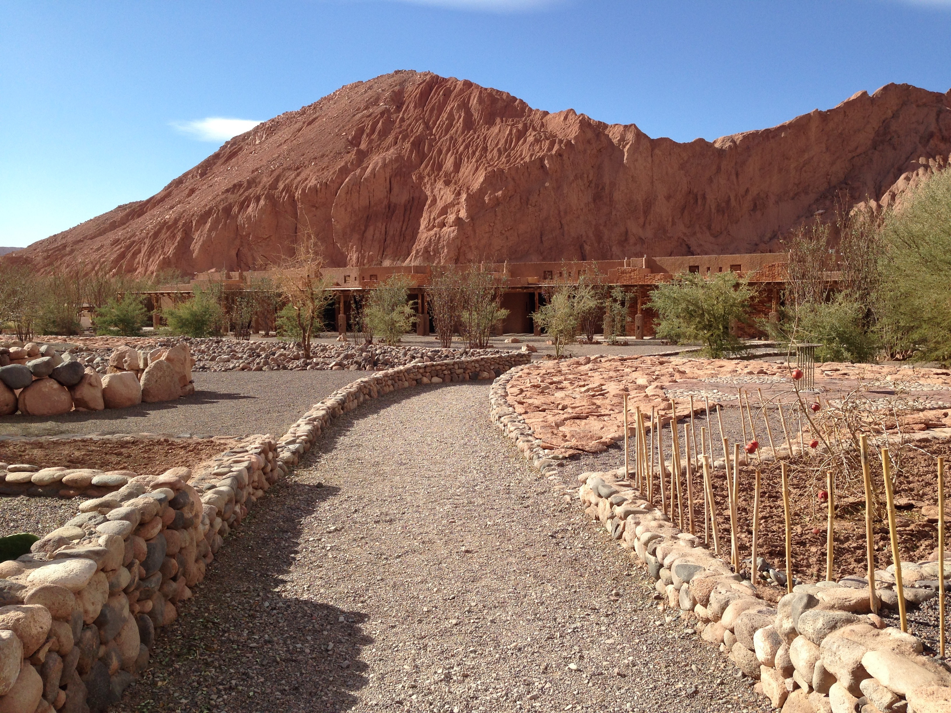 Don't blink or you'll miss the hidden Alto Atacama resort outside of San Pedro.