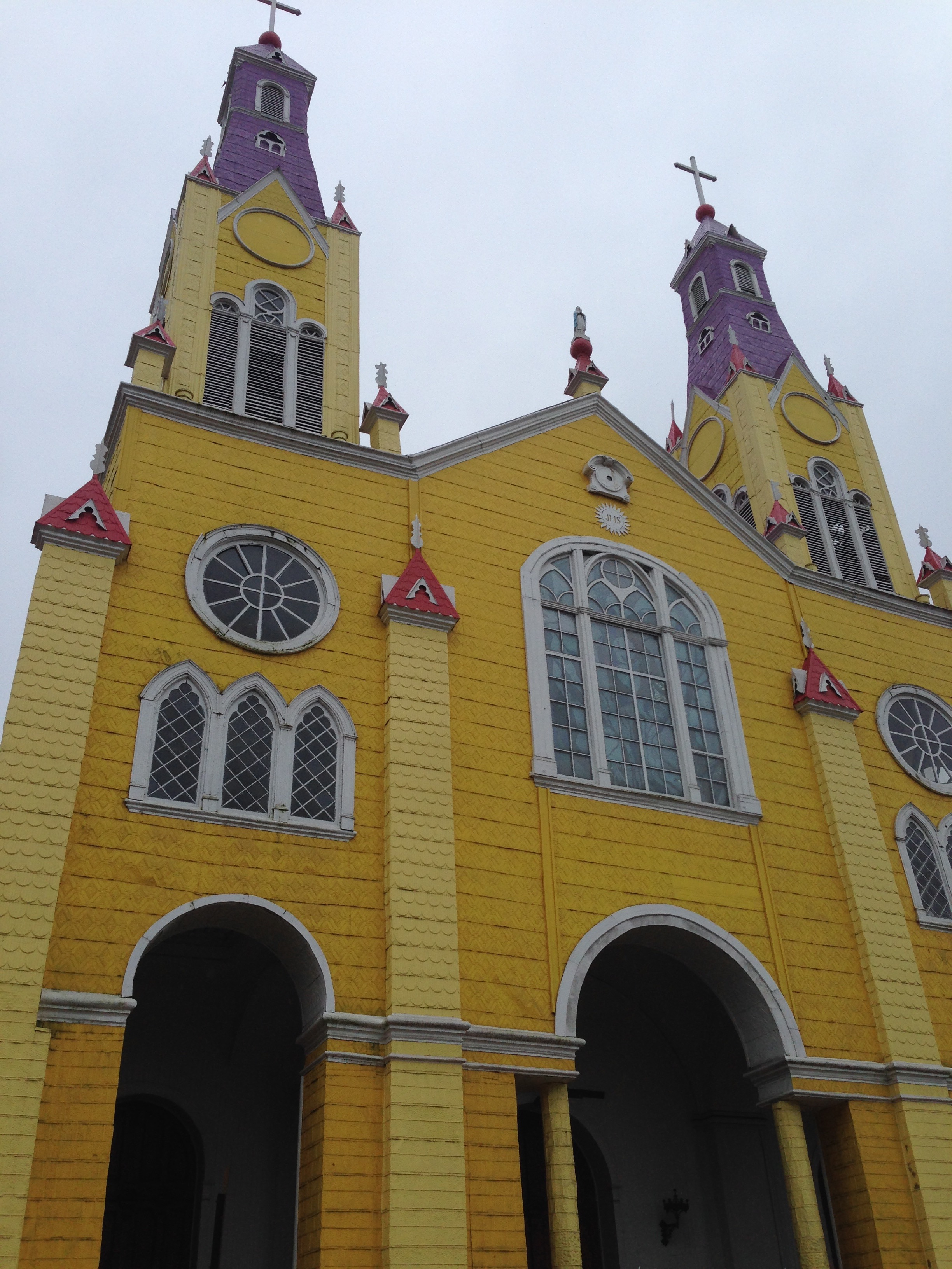 The Iglesia de San Francisco in Castro.