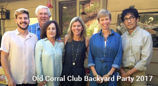 Team for Old Corral Club Backyard Party