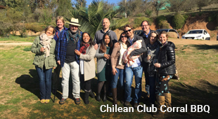 Chilean Corral Club Barbeque