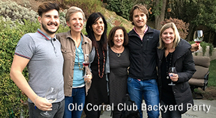Old Corral Club Backyard Party